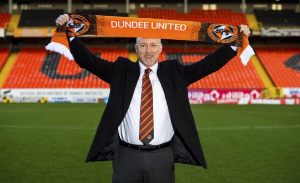 Ogren pictured after his takeover of Dundee United in January 2019.