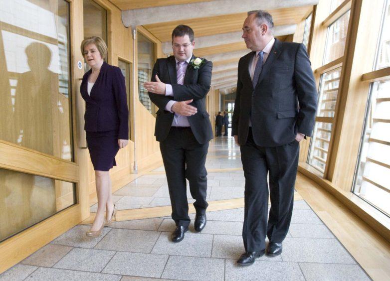 Salmond press conference