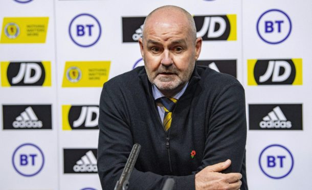 Scotland boss Steve Clarke discusses squad for play-off.