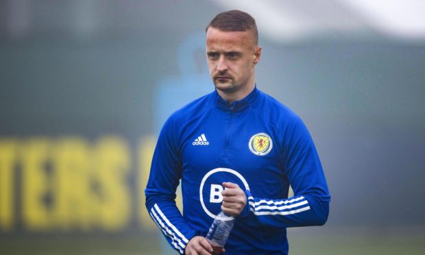 Celtic, Scotland and former Dundee striker Leigh Griffiths.