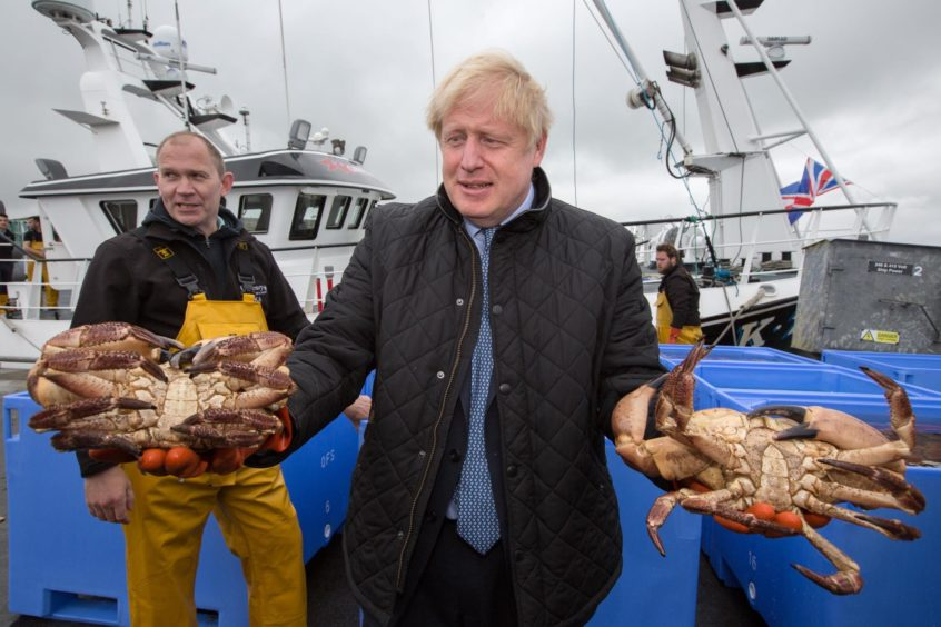 Boris Johnson Shetland