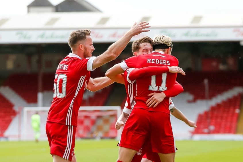 The relationship between Marley Watkins, Scott Wright and Ryan Hedges brought a vibrancy to the Aberdeen attack which has been missing in recent times.