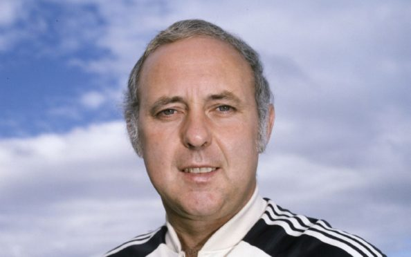 1982/1983: Dundee Utd manager Jim McLean.