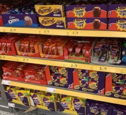 Shopper bewildered as Aberdeen supermarket filled with Easter chocolates on Boxing Day – Evening Express