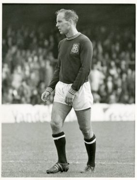Jim McLean as Dundee player.