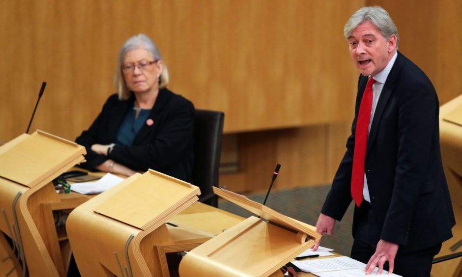 Scottish Parliament vote