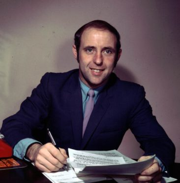 Jim McLean in his early days as a manager.
