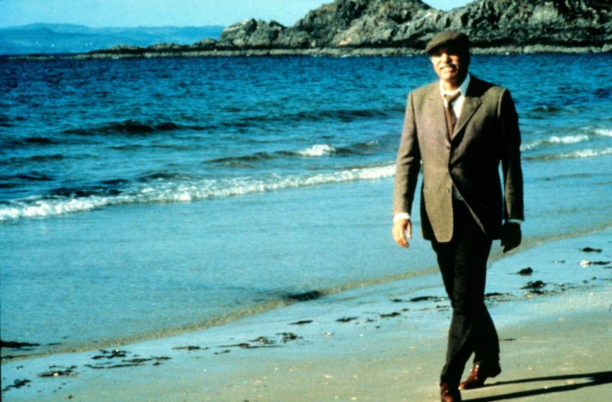 Burt Lancaster made a big impact in a small role in Local Hero.