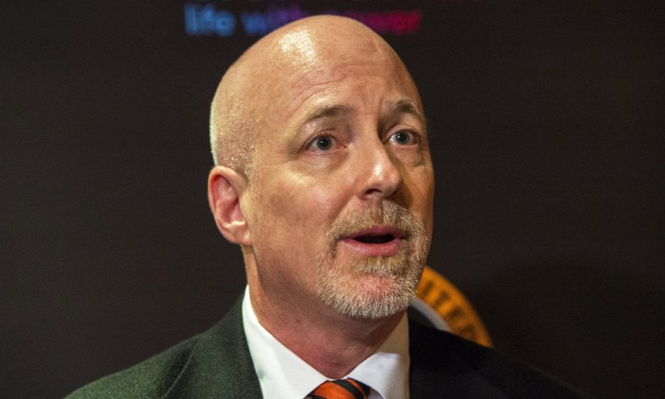 Dundee United owner Mark Ogren.
