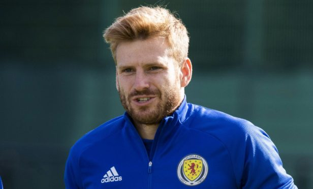 Southampton's former Dundee United star Stuart Armstrong.