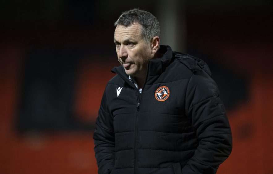 Micky Mellon's Dundee United team are sixth in the Premiership.