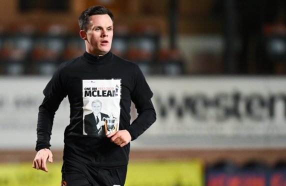 Lawrence Shankland pays tribute to Dundee United legend Jim McLean.