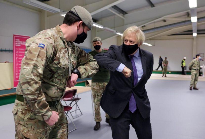 Boris Johnson fishermen