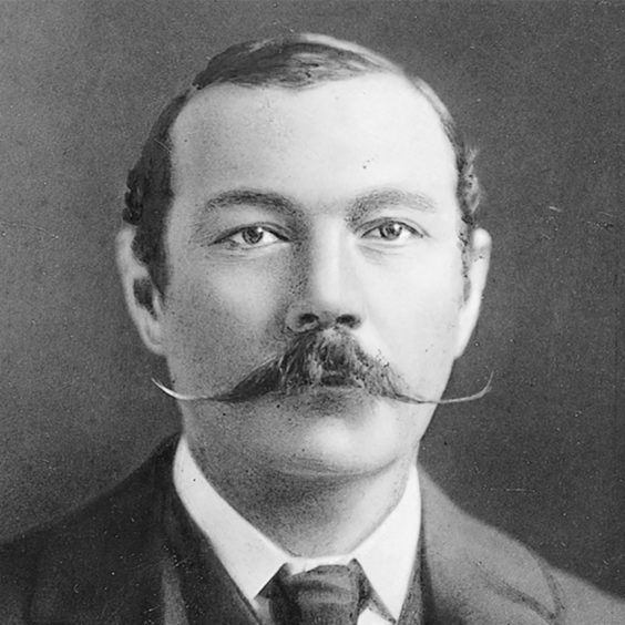 Sir Arthur Conan Doyle wrote a Sherlock Holmes story about early typewriters.