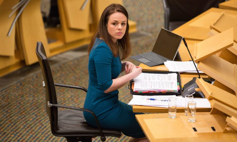 Kate Forbes public sector