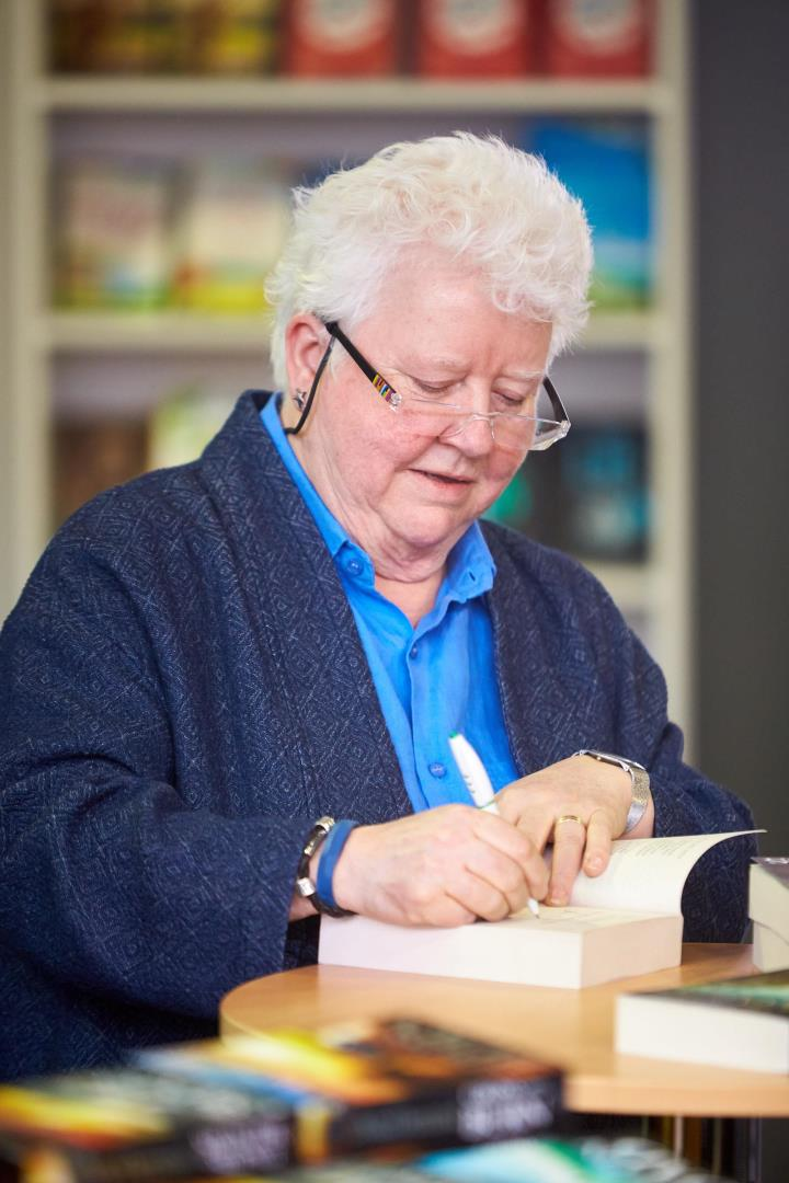 """Val McDermid has earned the monicker of """"Queen of Crime""""."""