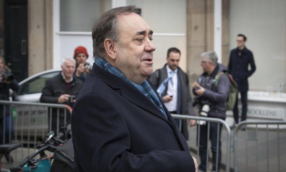 Salmond evidence row