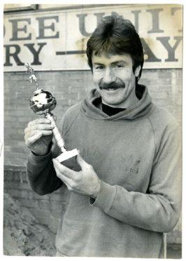 Hamish McAlpine pictured in 1985.