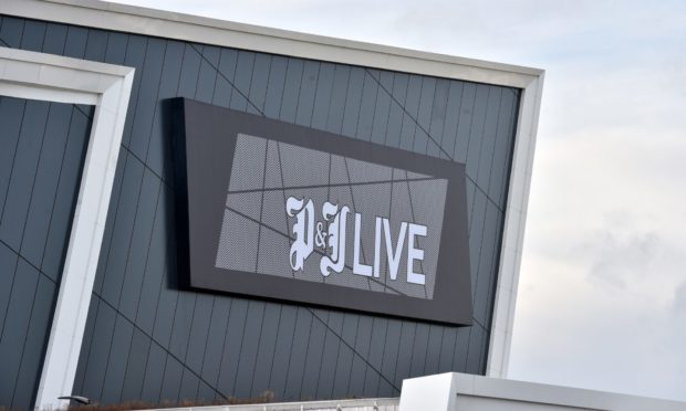 P&J Live was evacuated this afternoon after a small fire.