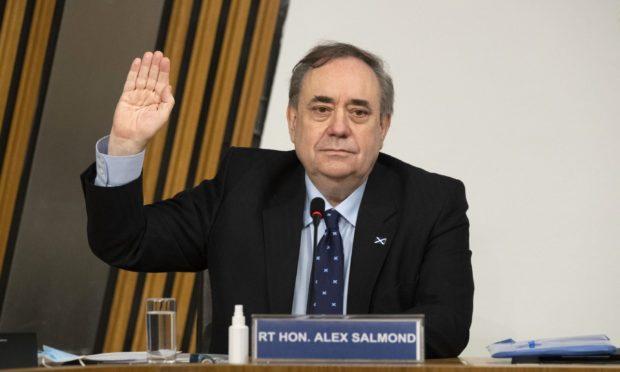 David Davis Alex Salmond