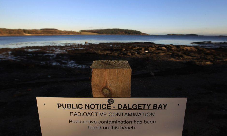 Dalgety Bay beach.