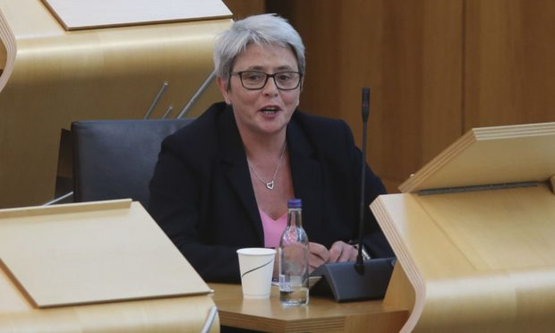 Scottish Conservative candidate Annie Wells