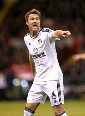 Fulham midfielder Kevin McDonald.