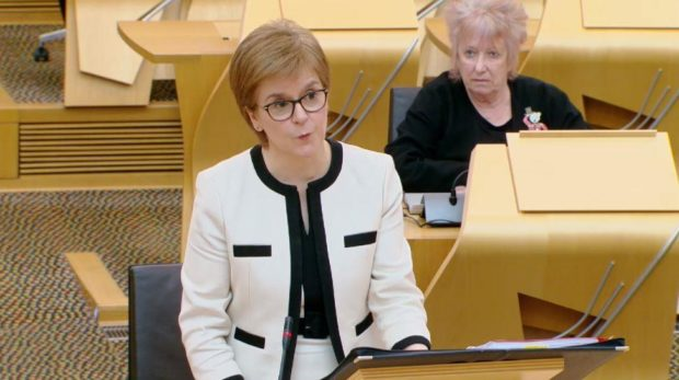 Nicola Sturgeon is among party leaders involved in debate.