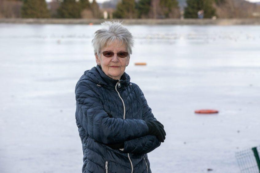 Dorothy McHugh at Clatto Reservoir