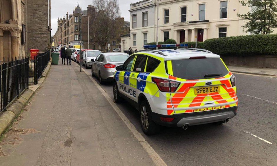 Dundee West End police raid
