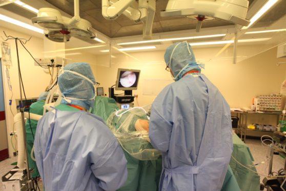 NHS Fife surgeons
