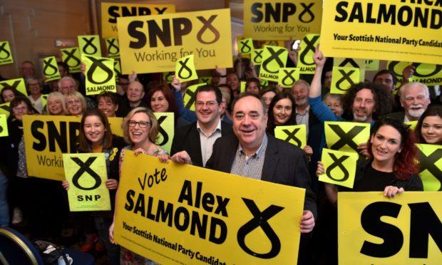 Alex Salmond Holyrood