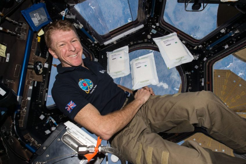 - SCIENCE ISS 07041520 36786989 847x564 - Astronaut Tim Peake launches Aberdeen date to reveal his journey into space