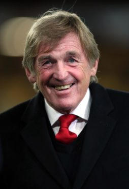 Sir Kenny Dalglish pictured in 2018.