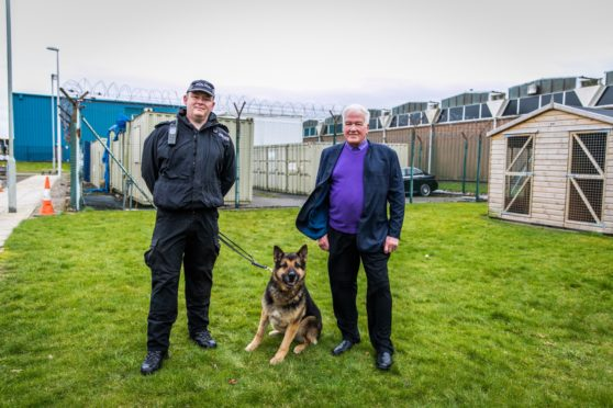 Dundee's first police dog handler