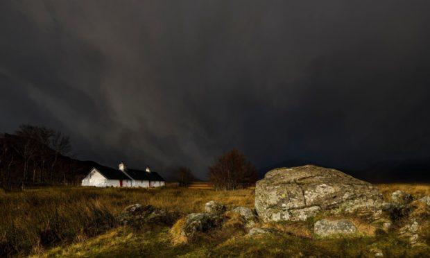 rural Scotland population