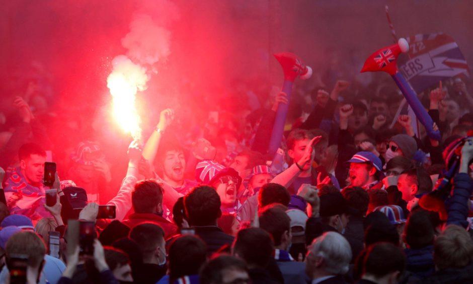 Sturgeon Rangers fans