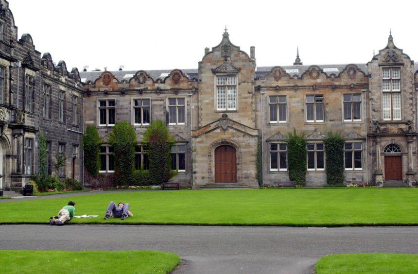 St Andrews University coronavirus
