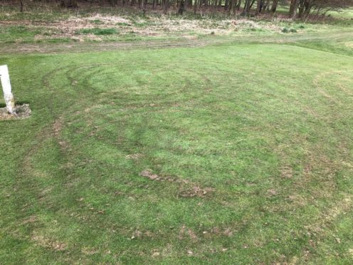 Caird Park golf course vandalised