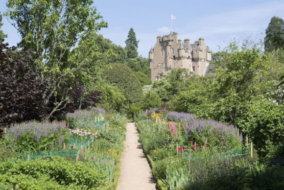 To go with story by Lauren Robertson. The National Trust for Scotland have announced the staggered reopening of their heritage sites from April 26. Picture shows; Crathes Castle, Aberdeenshire. Crathes Castle, Aberdeenshire. Supplied by National Trust for Scotland Date; Unknown