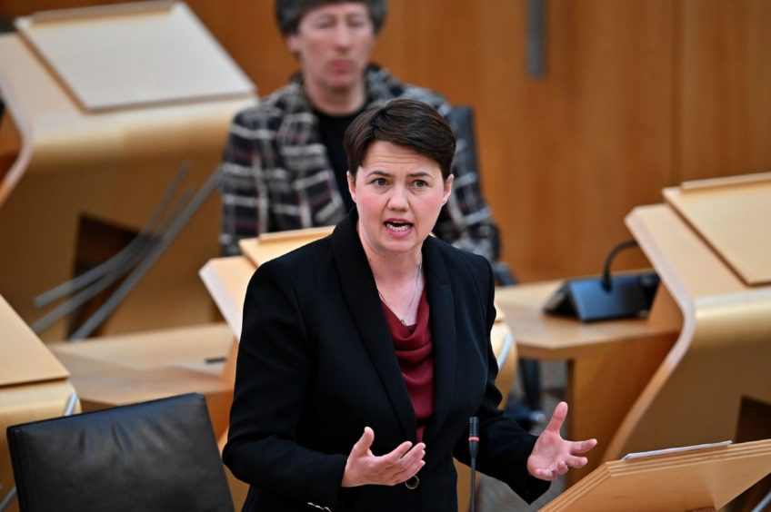Ruth Davidson.