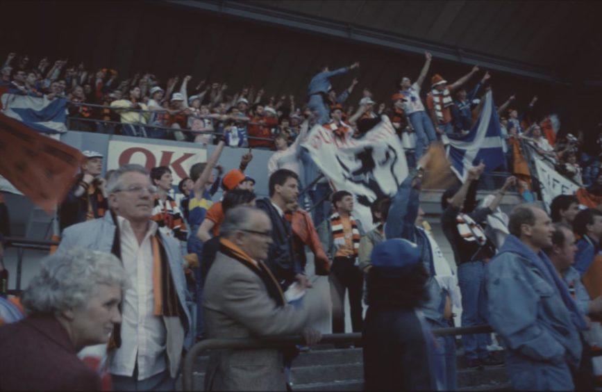 Dundee United Gothenburg 1987