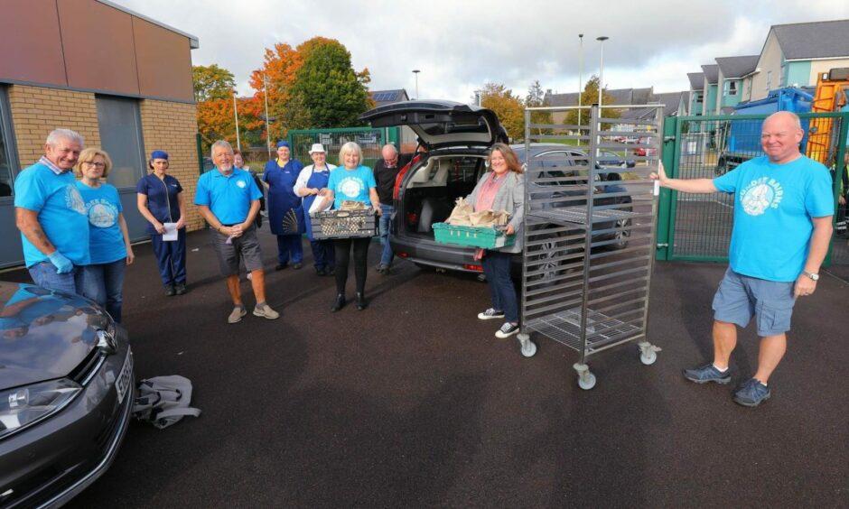 Dundee Bairns volunteers