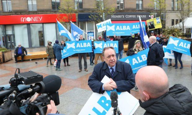 Salmond Sturgeon independence