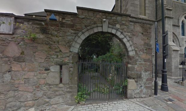 This image from Google Maps shows the plants growing out of the side wall, the top of which has now been knocked down.