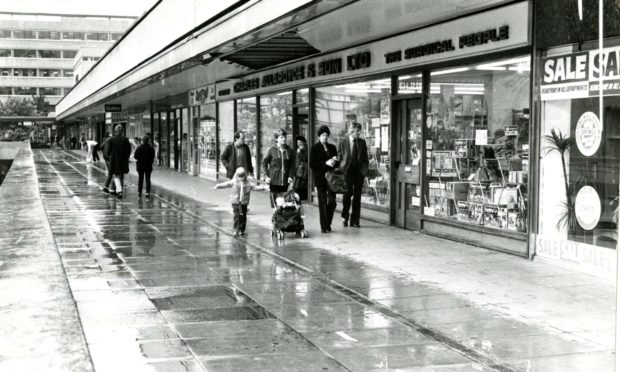 Overgate Shopping Centre, Dundee, 1981.