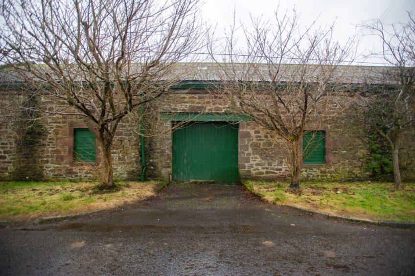 Newtyle railway sheds