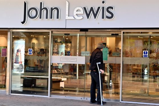 The closure of John Lewis in Aberdeen city centre will be a contributing factor in fears the area could fall to become an 'urban desert' after Covid.