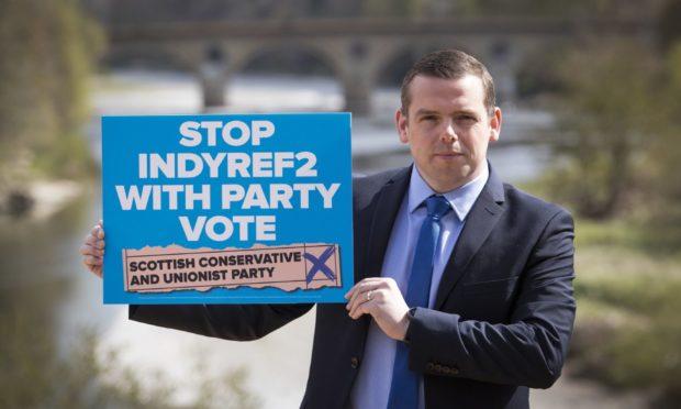 Scottish election ballot paper