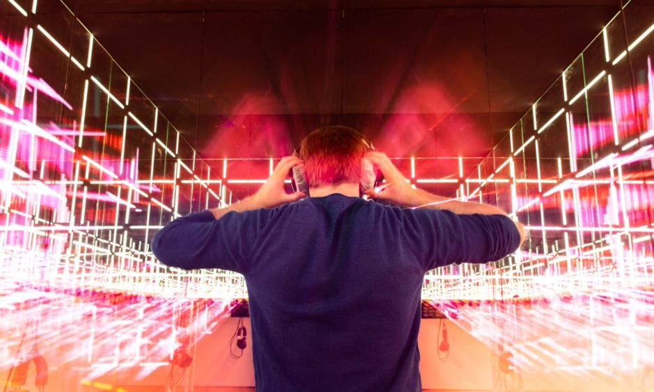 V&A Dundee reopened this summer with its Night Fever exhibition on club culture. Picture: Steve Brown/DCT Media.